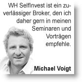 Trader Michael Voigt über Markttechnik.